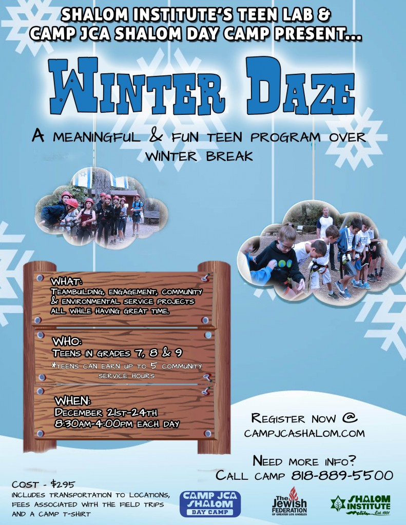 Winter Daze Day Camp 2